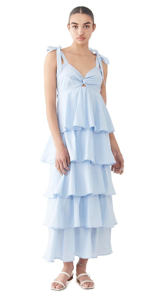 Azulu Tolima Dress in blue