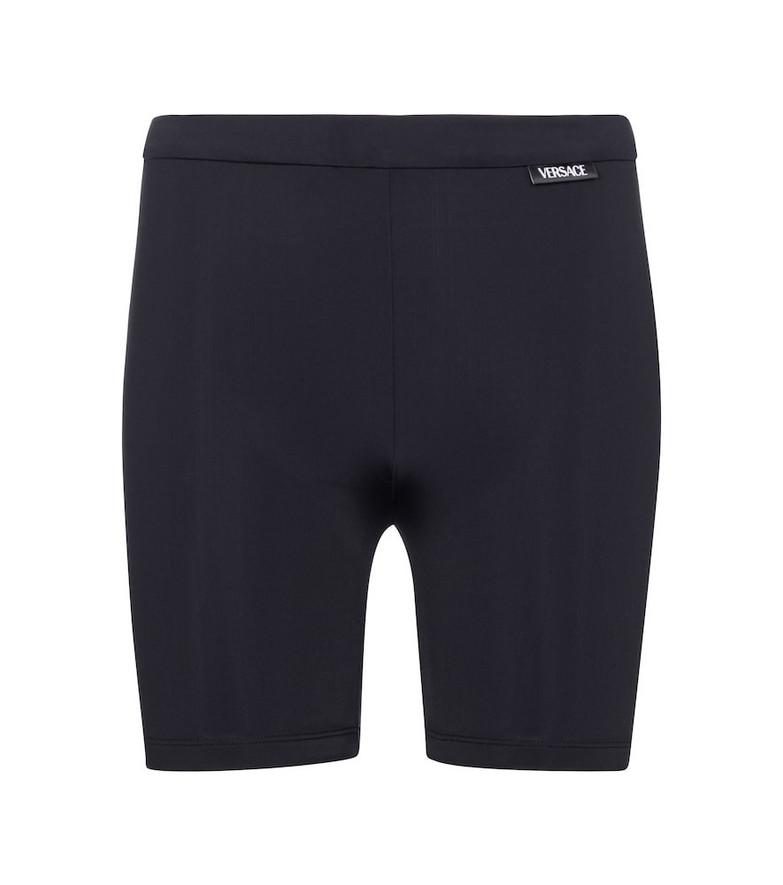 Versace Biker shorts in black