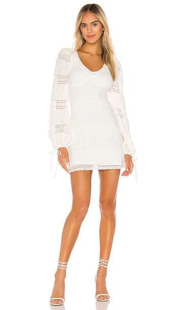 Tularosa Lula Dress in White