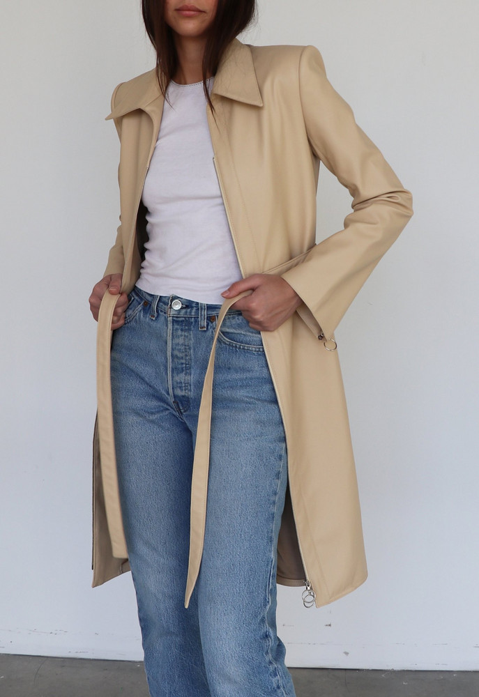 Orseund Iris TRENCH OATMEAL
