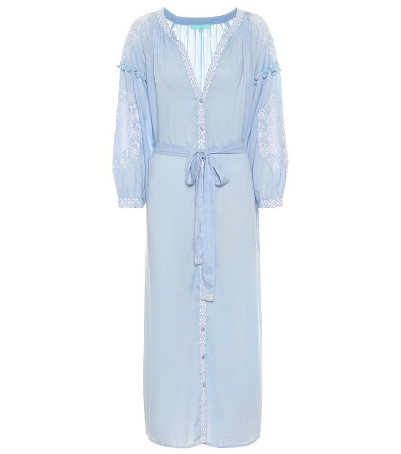 Melissa Odabash Exclusive to Mytheresa – Iyla embroidered kaftan in blue