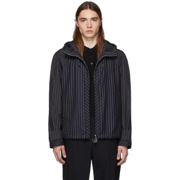 Burberry Navy K Way Jacket