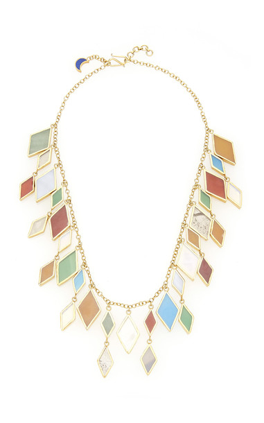 Pippa Small Rabia Large Necklace in gold