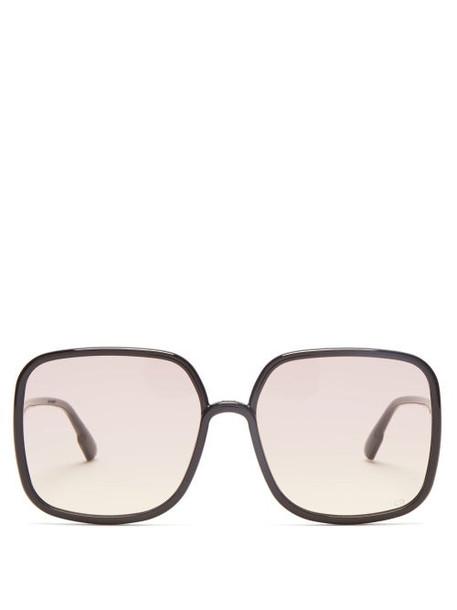 Dior Eyewear - Diorsostellaire1 Acetate Sunglasses - Womens - Black