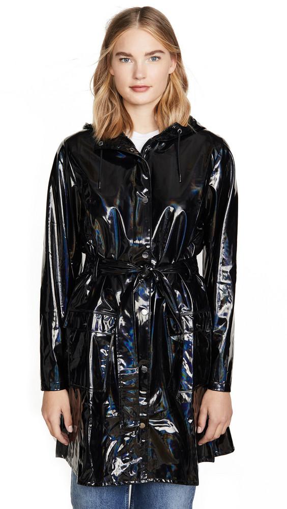 Rains Curve Jacket in black