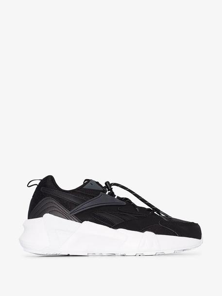 Reebok Aztrek chunky sneakers in black
