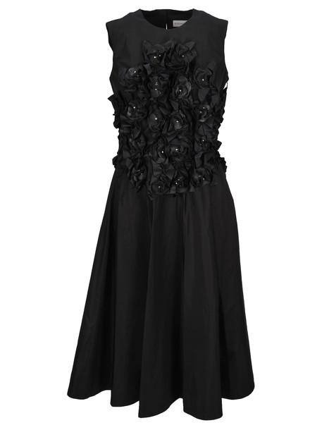 Moncler Genius Moncler Noir Moncler Noir Flower Applications Dress