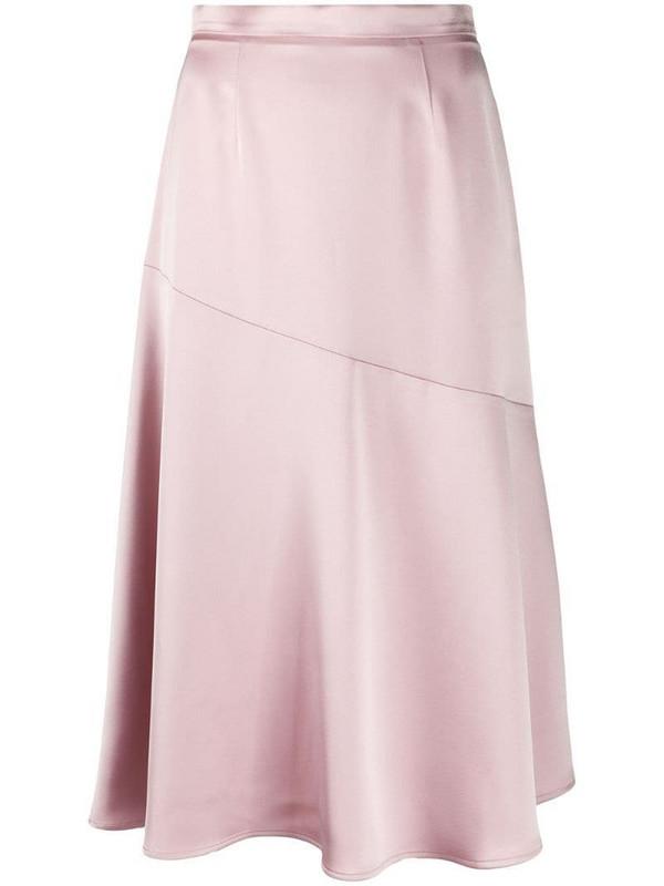 Blanca Vita Giada satin mini skirt in pink