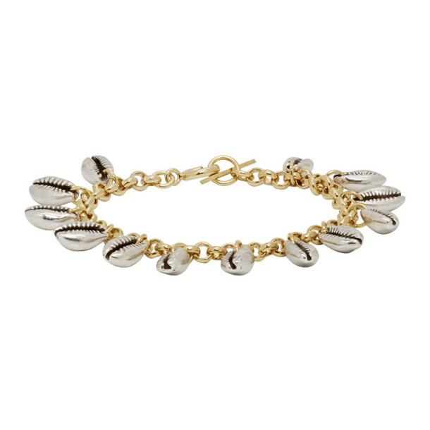 Isabel Marant Silver & Gold Amer Bracelet