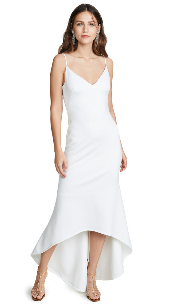 Black Halo Aremelle Gown in cream
