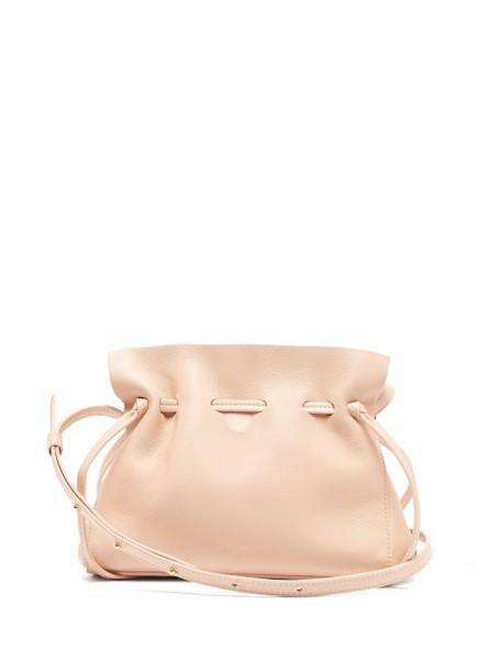 Mansur Gavriel - Mini Protea Leather Bag - Womens - Pink Multi
