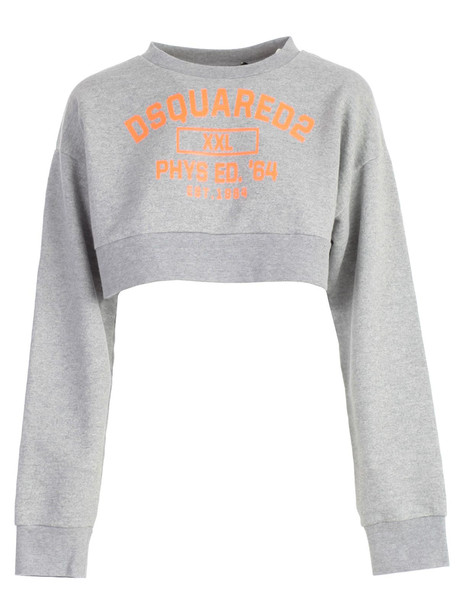 Dsquared2 Cropped Sweatshirt in pink