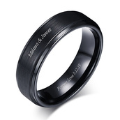 jewels,ring,gullei,gullei.com,mens promise ring,mens wedding ring,black ring,mens titanium ring,mens anniversary ring,name ring,custom name ring,personalized ring,gift ideas,birthday gift for boyfriend,chritsmas gift for boyfriend,anniversary gift for men,valentines gifts for boyfriend