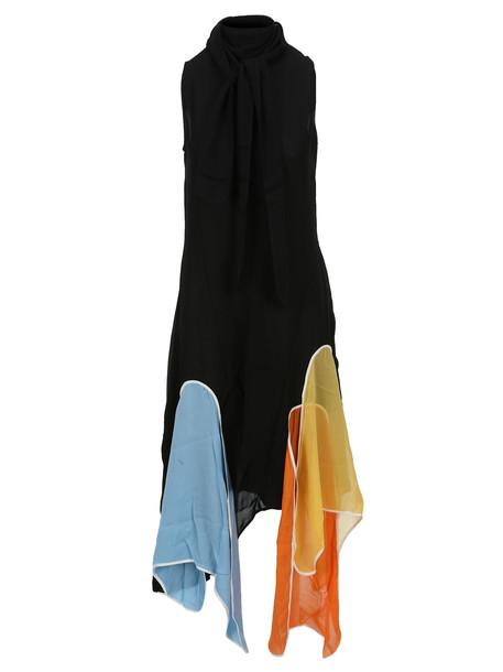 J.W. Anderson Jw Anderson Petal Dress in black