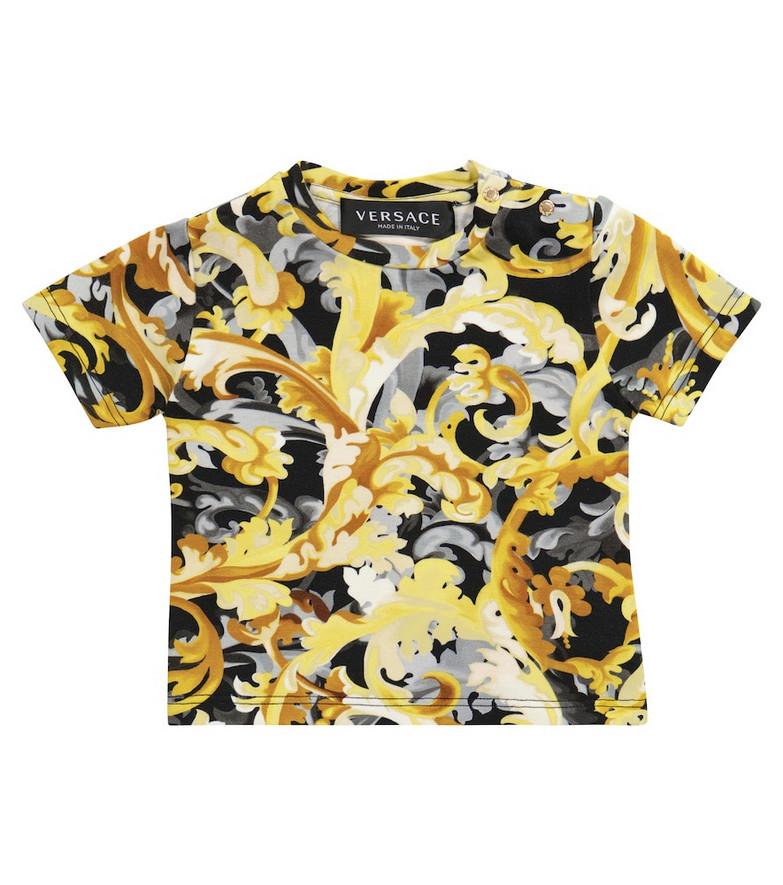 Versace Kids Baby Baroccoflage T-shirt