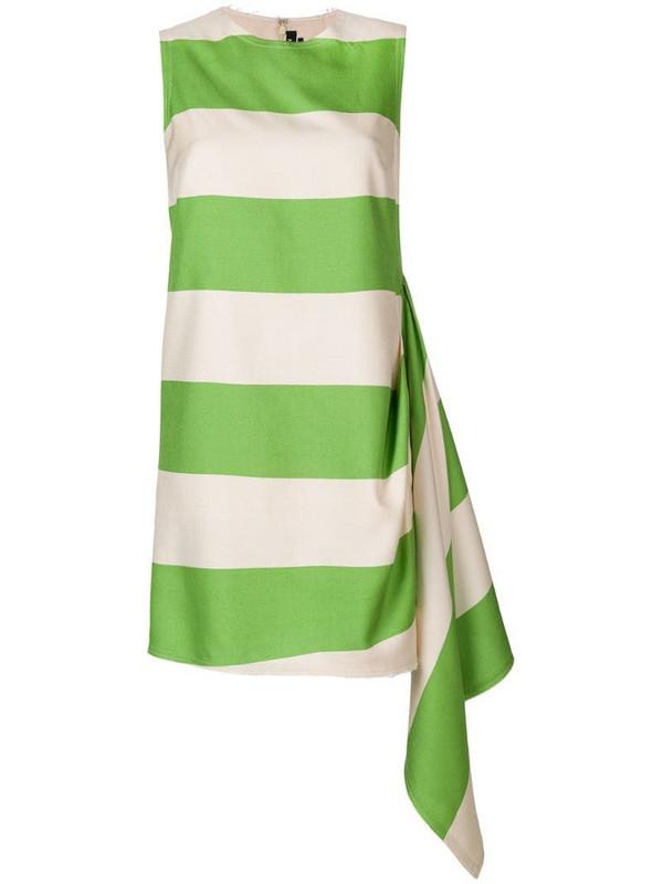Calvin Klein 205W39nyc day designer dress in green