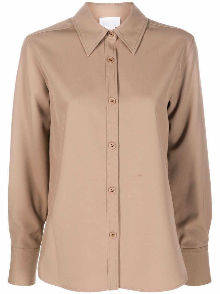 A.P.C. A.P.C. drop shoulder shirt - Neutrals
