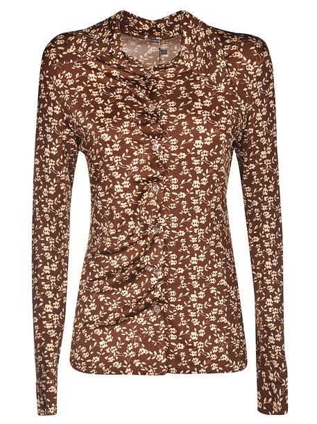 Dodo Bar Or Paya Shirt in brown
