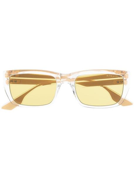 Dita Eyewear Alican square-frame sunglasses - Neutrals