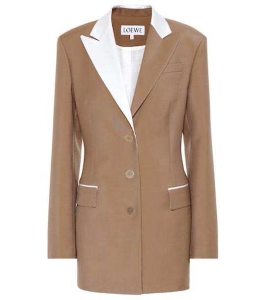 Loewe Wool blazer in beige