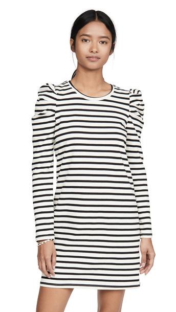 Rebecca Minkoff Talia Dress in black / white