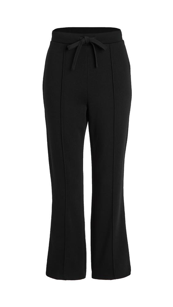 Z Supply Peyton Cropped Sweatpants in black