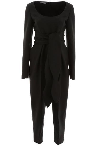 Stella McCartney Crepe Jumpsuit in black