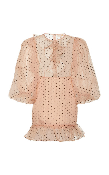 byTiMo Organza Mini Dress in pink