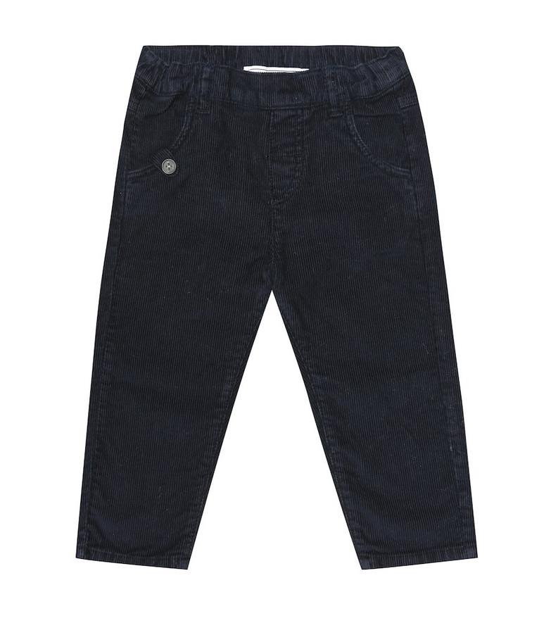 Tartine et Chocolat Baby corduroy pants in blue
