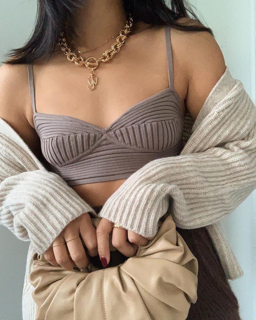 sweater underwear bag