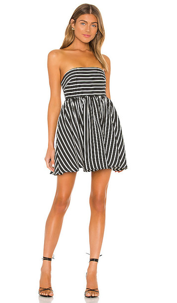 Lovers + Friends Lovers + Friends Wyatt Mini Dress in Black & White