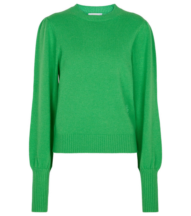 Chloé Cashmere sweater in green