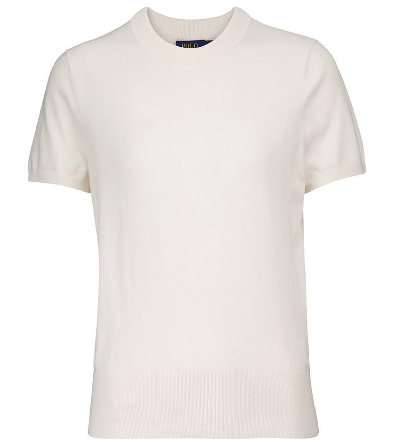 Polo Ralph Lauren Cotton-blend sweater in white