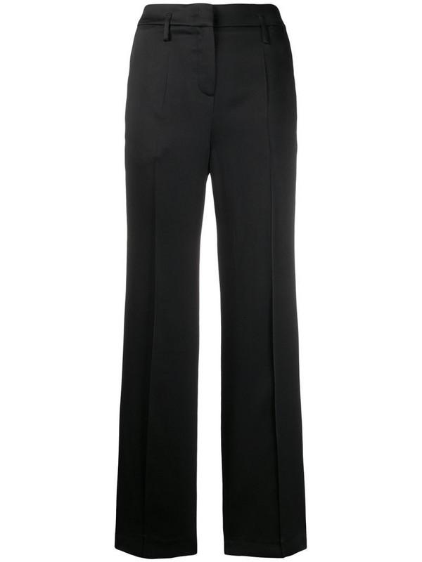 Luisa Cerano wide leg trousers in black