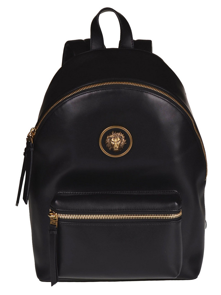 Versus Versace S Lion Head Backpack in black