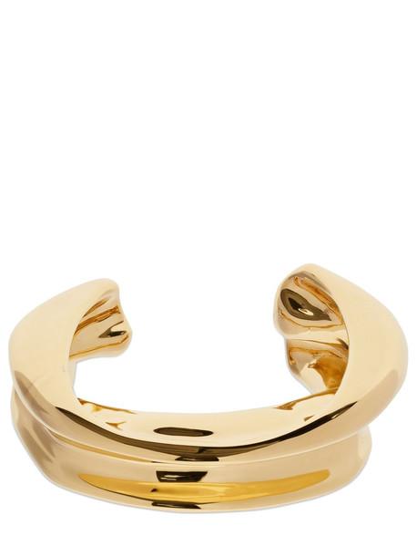 JIL SANDER Melting Cuff Bracelet in gold