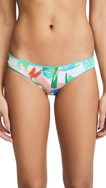 Maaji Aquatic Sublime Bikini Bottoms in turquoise