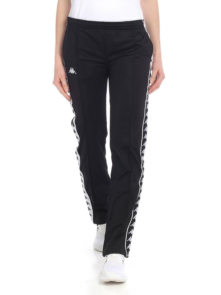 Kappa Logo Track Pants in black