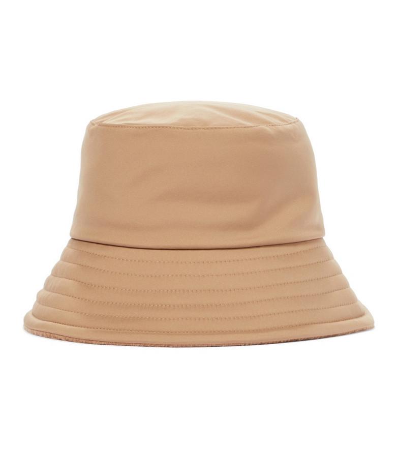 Loro Piana Zita reversible bucket hat in brown