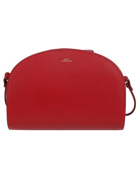 A.P.C. A.p.c. Luna Shoulder Bag in red
