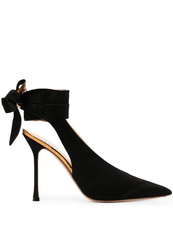 Francesco Russo ankle-strap pumps in black