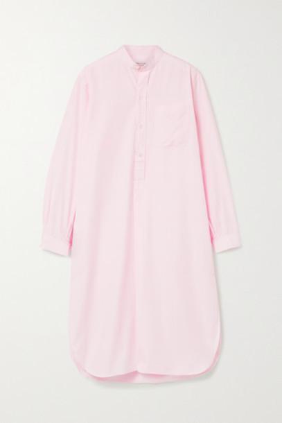 Charvet - Cotton-poplin Nightdress - Pink