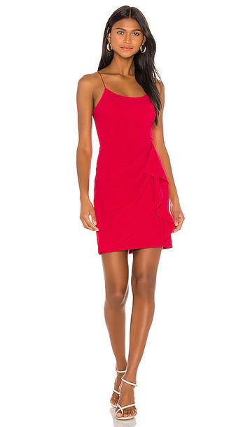 Parker Black Myrtle Dress in Pink