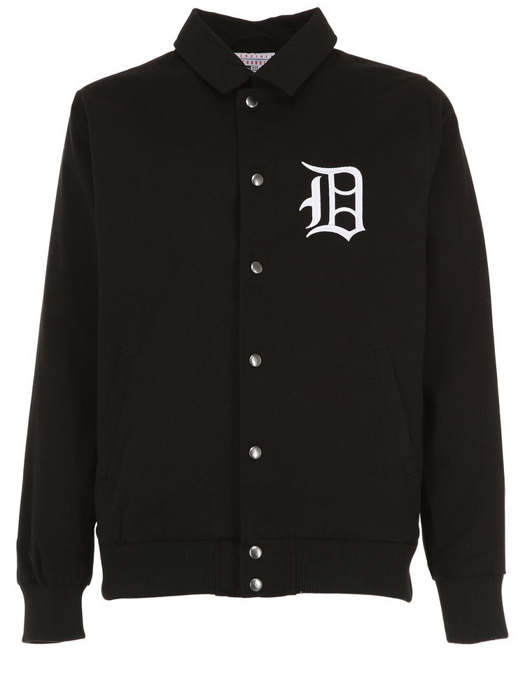 NEW ERA Detroit Tigers Cooperstown Cotton Jacket in black