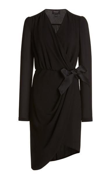 Giambattista Valli Wrap Dress in black