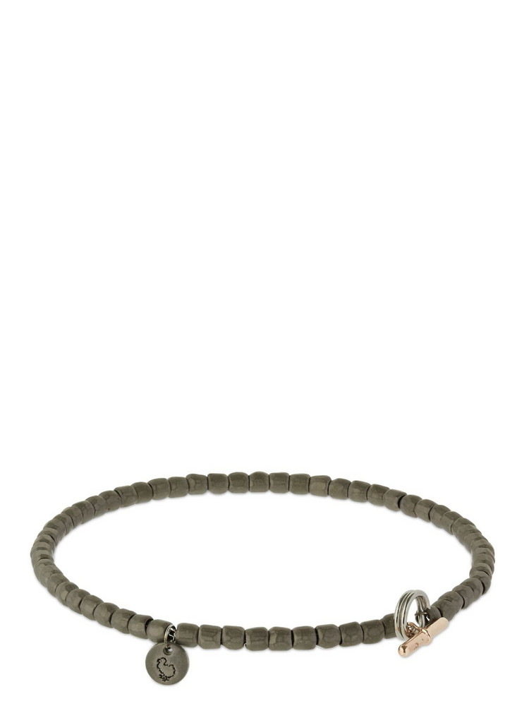 DODO Mini Granelli Chain Bracelet in black