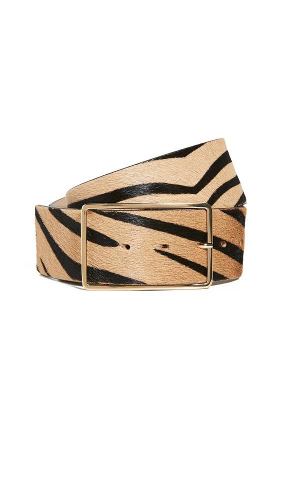 B-Low The Belt Milla Waist Calf-Hair Belt in gold