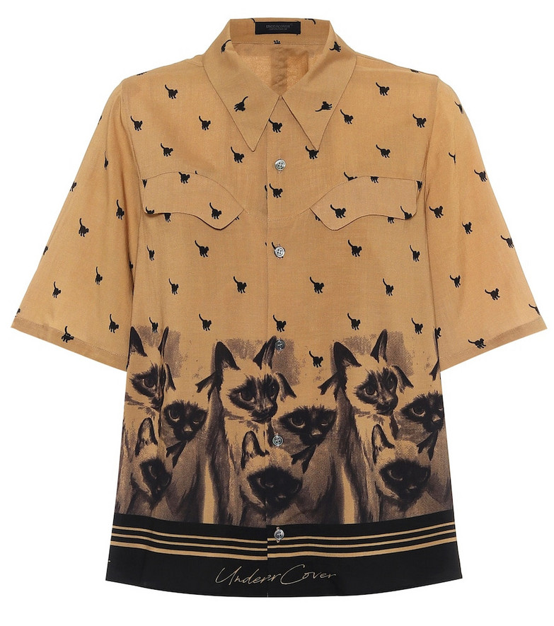 Undercover Printed blouse in beige