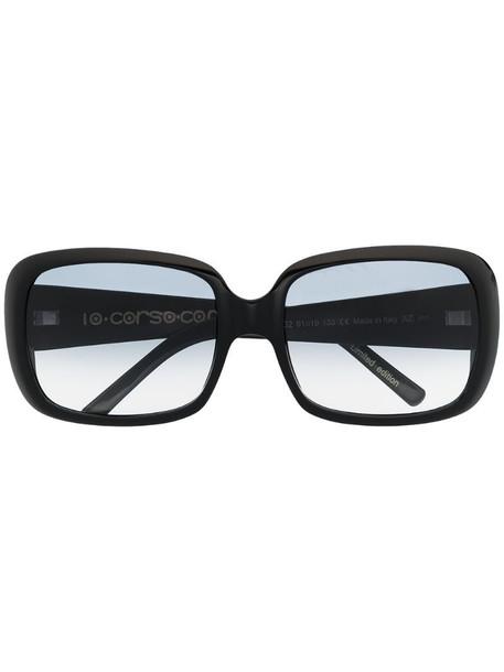 10 CORSO COMO square-frame sunglasses in black
