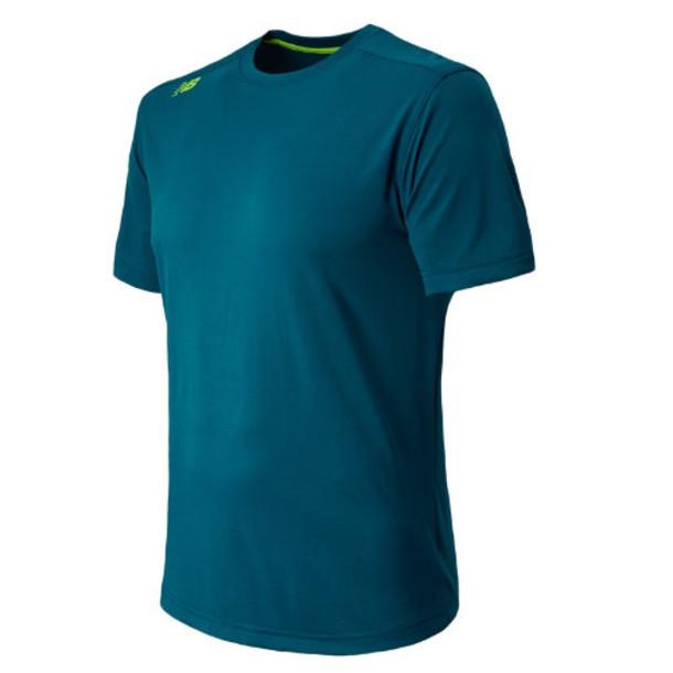 New Balance 4398 Men's Short Sleeve Tech Tee - Deep Water (MFT4398DPW)